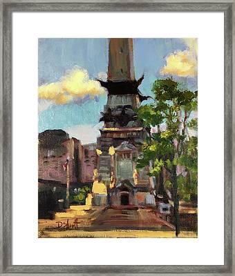 Monumental Summer Framed Print