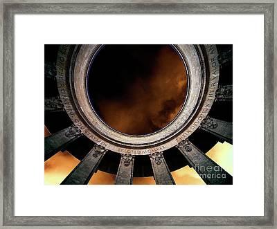 Monumental_1 Framed Print