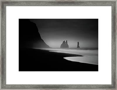 Monuments At Dawn Framed Print