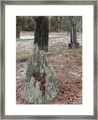Monuments Framed Print by Warren Thompson