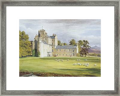 Monymusk House Framed Print by James Giles