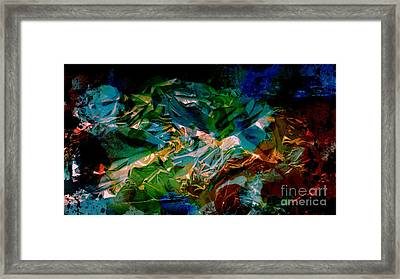 Mood Colors Framed Print
