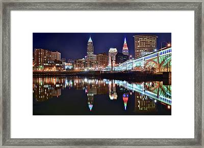 Mood Lighting Framed Print