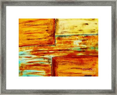 Moods Of Confusion Framed Print by Marsha Heiken