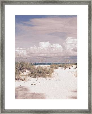 Anna Maria Island Moods Of June Framed Print by Jean Marie Maggi