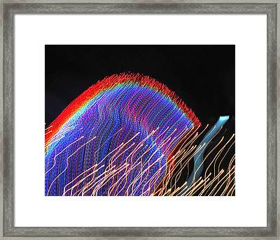 Framed Print featuring the photograph Moodscape 7 by Sean Griffin
