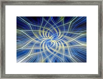 Moody Blue Framed Print by Carolyn Marshall
