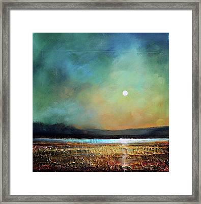 Moody Light Framed Print by Toni Grote