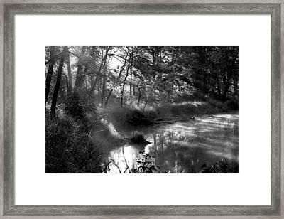Moody Scene Framed Print