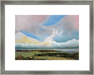 Moody Skies Framed Print