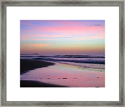 Moody Sunrise Framed Print