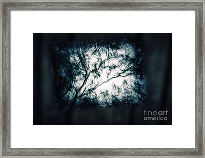 Moody Tablet Reflection Framed Print by Jorgo Photography - Wall Art Gallery