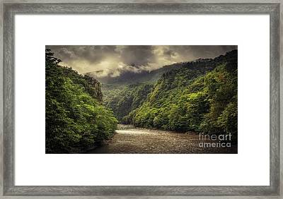 Moody Weather Framed Print by Svetlana Sewell