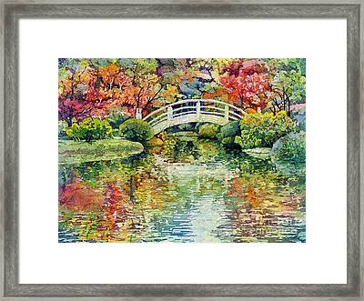 Moon Bridge Framed Print