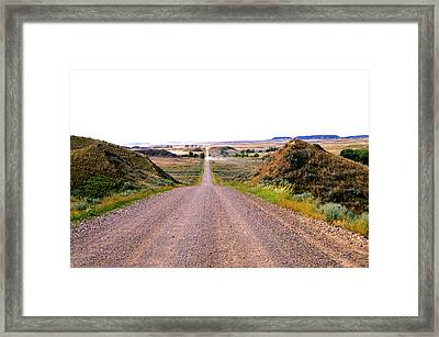 Moon Creek Heavy Traffic Framed Print