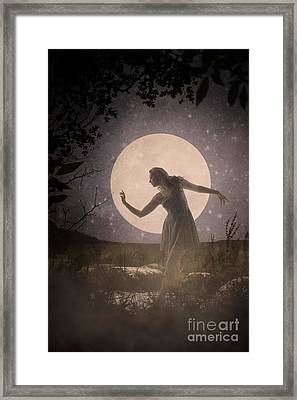 Moon Dance 001 Framed Print