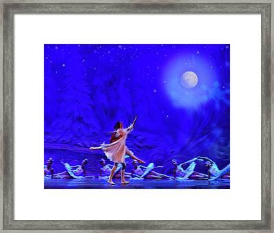 Moon Dance Framed Print