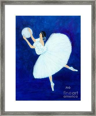 Moon Dancer Framed Print by Anke Wheeler