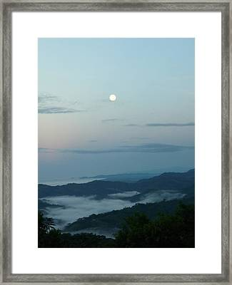 Moon Dancing With The Sea Framed Print by Gregory Young