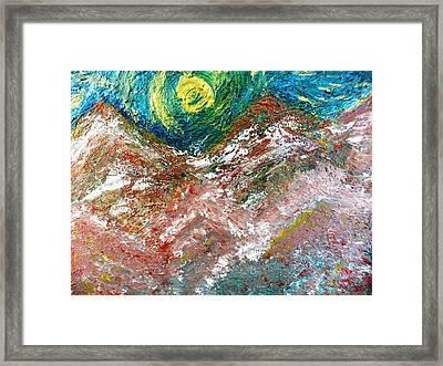 Moon Dream Framed Print by Amy Drago
