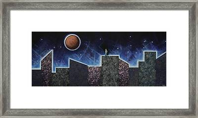 Moon Eclipse Framed Print