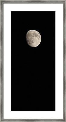 Moon Framed Print by Elizabeth Sullivan