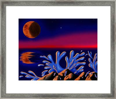Moon-glow II Framed Print