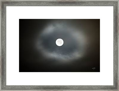 Moon Glow Framed Print by Leland D Howard