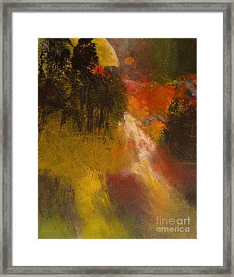 Moon Glow Framed Print by Melody Cleary