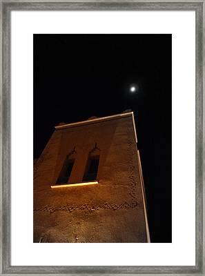 Moon Framed Print by Jean-Philippe Desjeunes