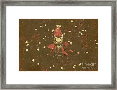 Moon Landings And Childhood Memories Framed Print