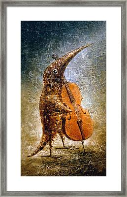 Moon Light Sonata Framed Print by Lolita Bronzini