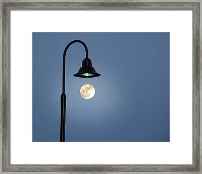Moon Lighting Framed Print by Tom McCarthy