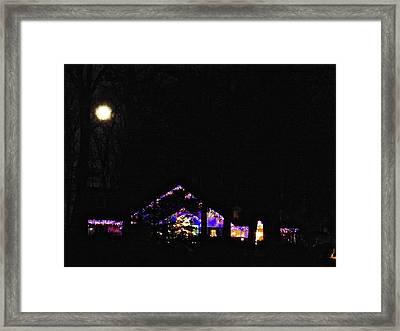 Moon Lights Framed Print