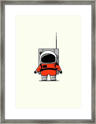 Moon Man Framed Print by Nicholas Ely