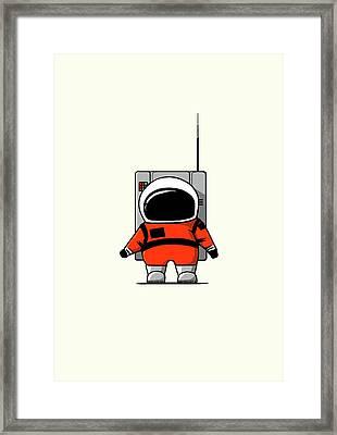 Moon Man Framed Print by Nicholas Ely