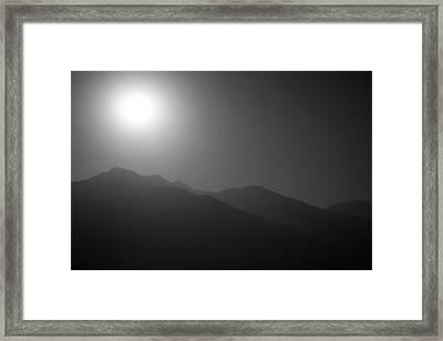 Moon Night Framed Print