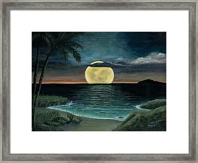 Moon Of My Dreams IIi Framed Print