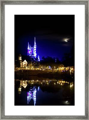 Moon Over Magic Framed Print