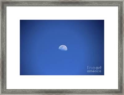 Moon Over Rio Frio Framed Print