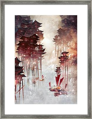 Moon Palace Framed Print