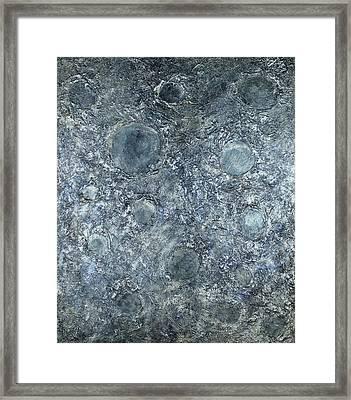 Moon Framed Print by Pamela Rys