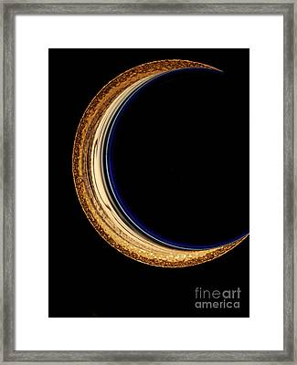 Moon Phase Framed Print