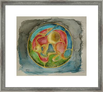 Moon Rabbit 2 Framed Print