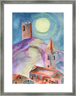 Moon Rising Framed Print by Molly Williams