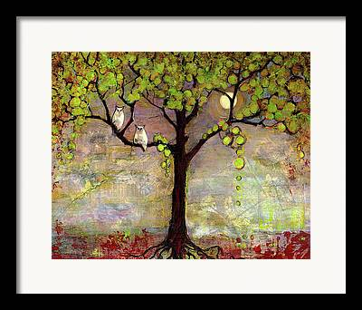 Treescape Framed Prints