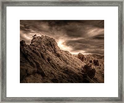 Moon Rocks Framed Print by Scott McGuire