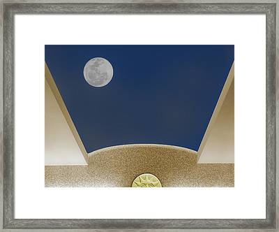 Moon Roof Framed Print
