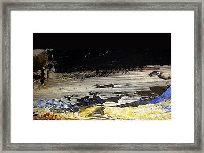 Moon-scape Framed Print by Jacqueline Marks