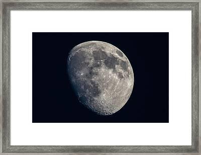 Moon Framed Print by Sean Ramsey